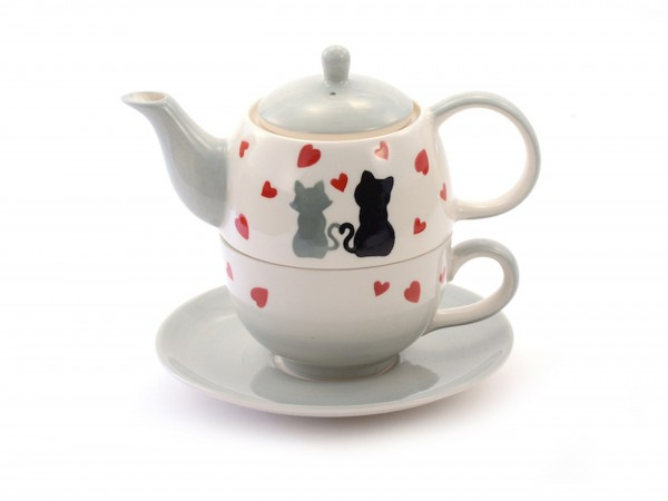 "Tea for one ""Colette"" 4-teilig"