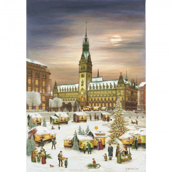 Adventskalender Hamburger Rathaus