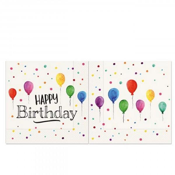 Servietten für Dich:-) Happy Birthday