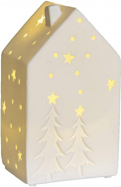 Valentino Wohnideen - Lichthaus Motiva Baum mit LED, 16 cm