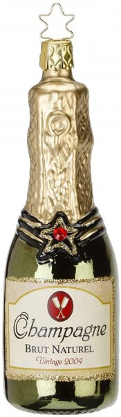 Inge-Glas Anhänger Champagner 12,5cm