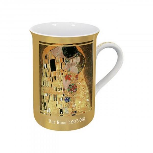 Becher Gustav Klimt, Der Kuss
