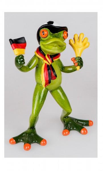 """Formano - Frosch """"Fußballfan"""" (mit Schal)"""