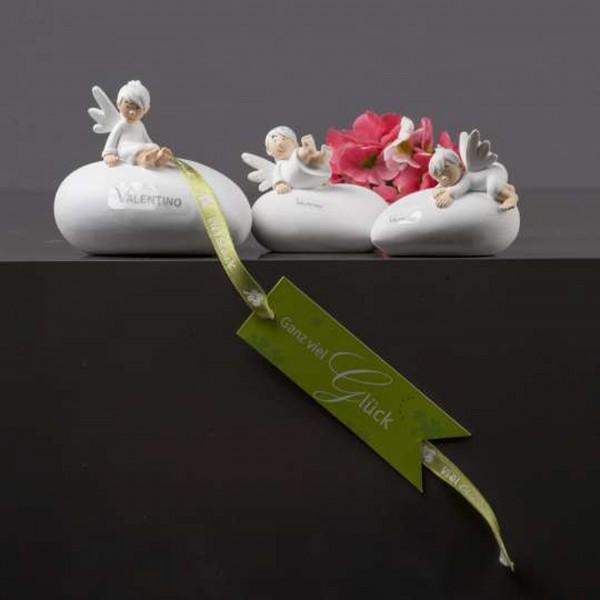 Valentino Engel Niko auf Herz, 9 cm, sitzend