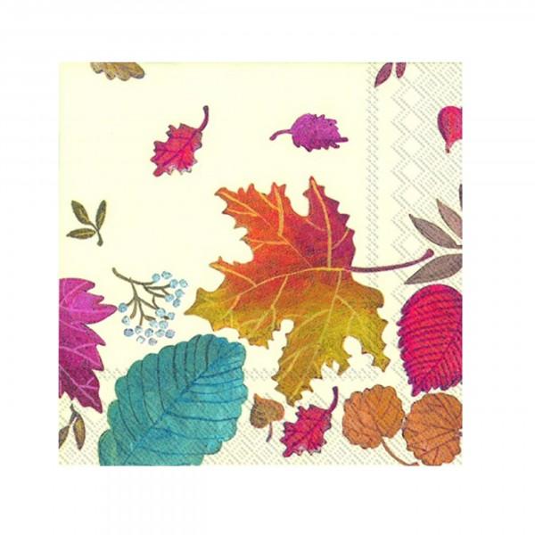 Serviette Autumn Day cream