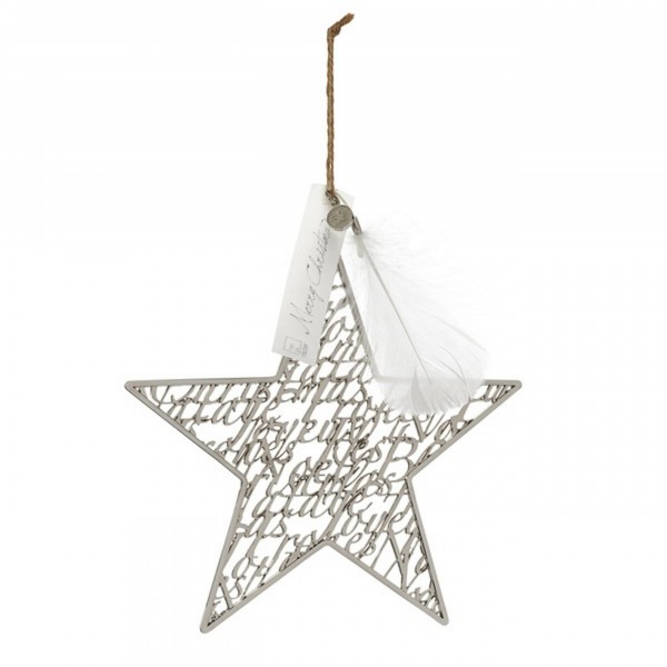 Weihnachtszauber Silberstern