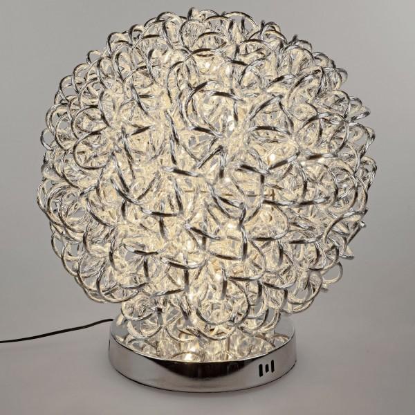 Formano Drahtkugel-Lampe auf Fuß, Draht, 40cm