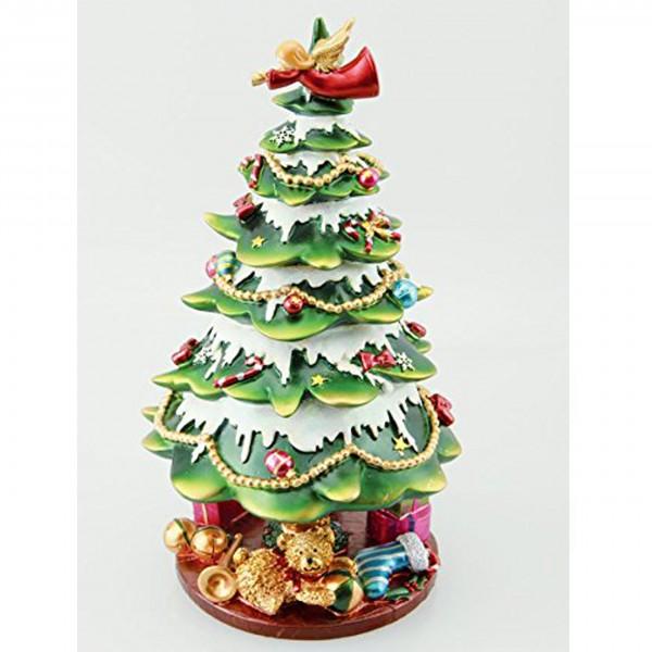 """Spieluhr """"Weihnachtsbaum mit Schleife"""""""