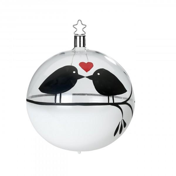 Inge-Glas Hochzeitskugel - Love-Bird