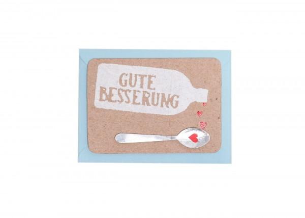 """Good old Friends - Mini Kärtchen """"Gute Besserung"""""""