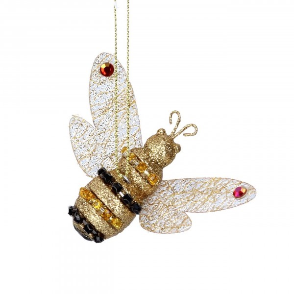 Gisela Graham Anhänger, Juwelen Biene - Bumble Bee, 8cm