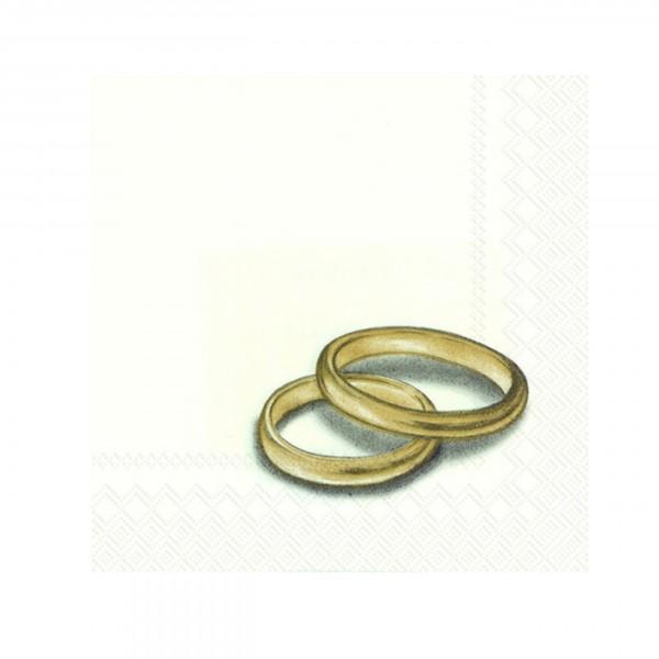 Serviette RINGS gold