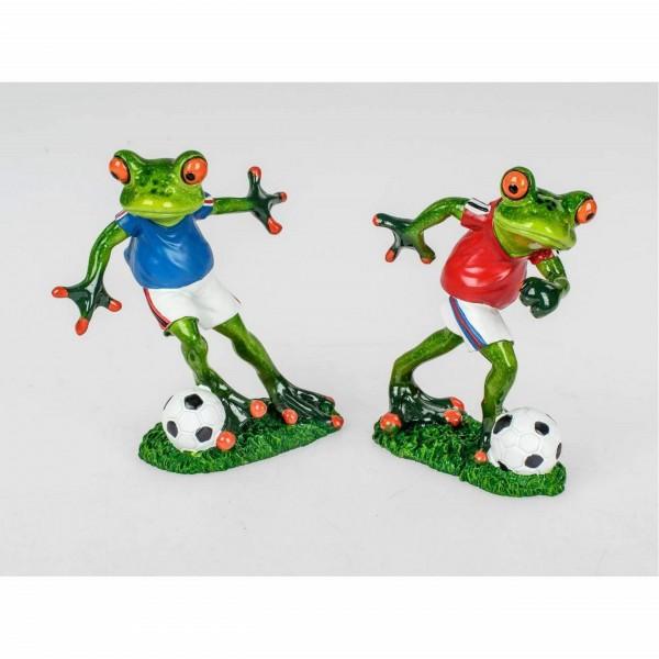 Formano Frosch Fußball (blaues Trikot)