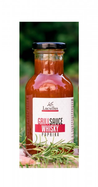Lucullus - Grillsauce - Whisky Paprika, 250ml