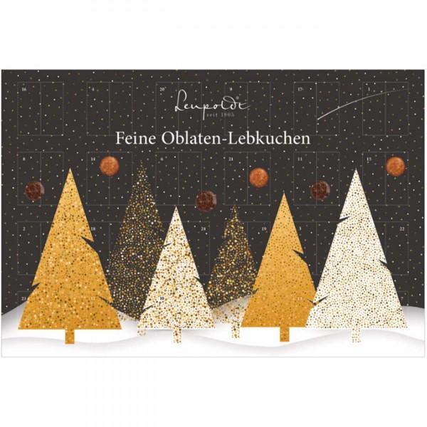 Leupoldt - Lebkuchen-Adventskalender, 6fach sortiert