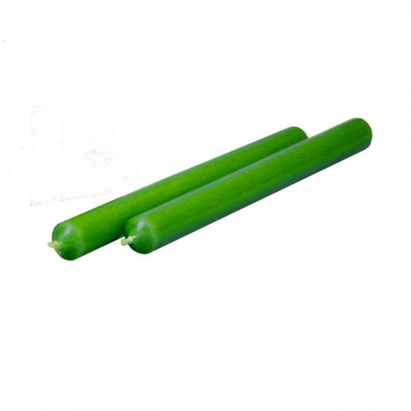 Stabkerze grün