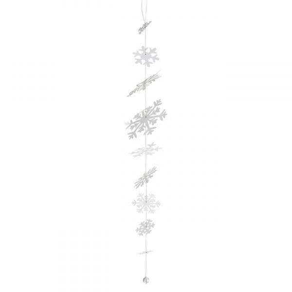 Räder Winterzeit - Tanzende Schneeflocken Kette, 100 cm