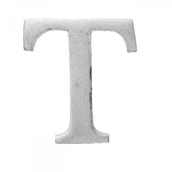 Aluminium Buchstabe T