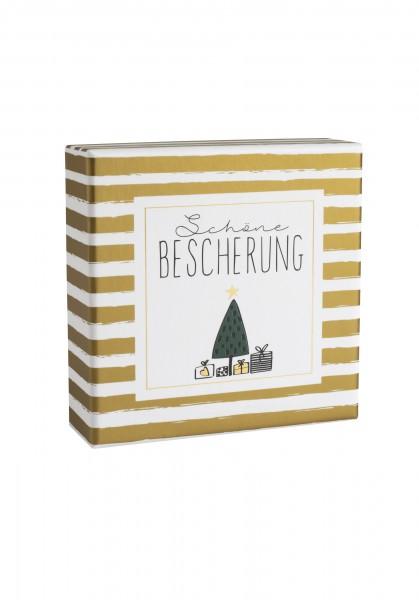 """Räder Winterzeit Geschenkschachtel """"Schöne Bescherung"""""""