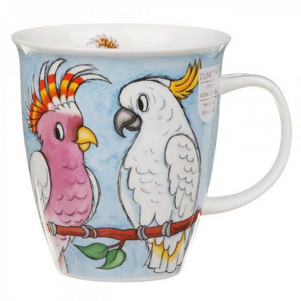 Dunoon Nevis Becher - Tropicals - Cockatoos (Kakadu)