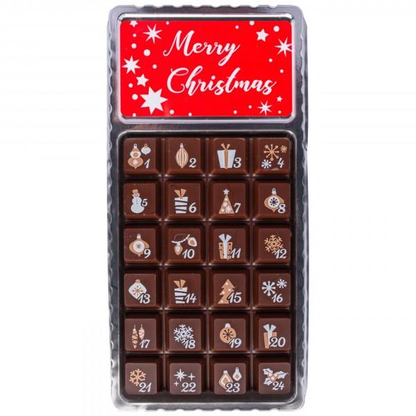 Weibler Schokoladen - Adventskalender, XS ZB