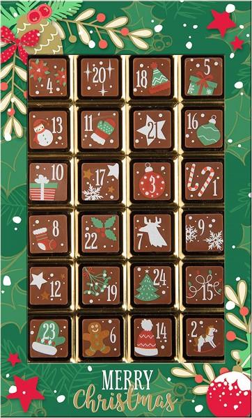 Weibler - Schoko-Adventskalender Merry Christmas, VM 120g