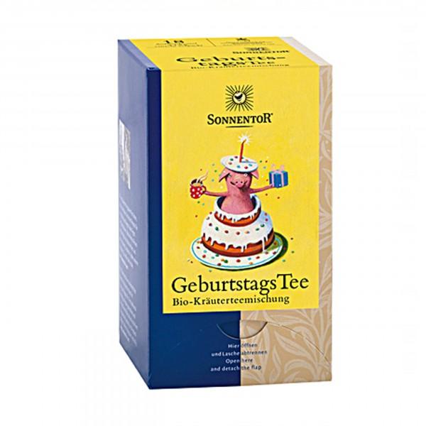 Sonnentor - Geburtstags Tee im Teebeutel