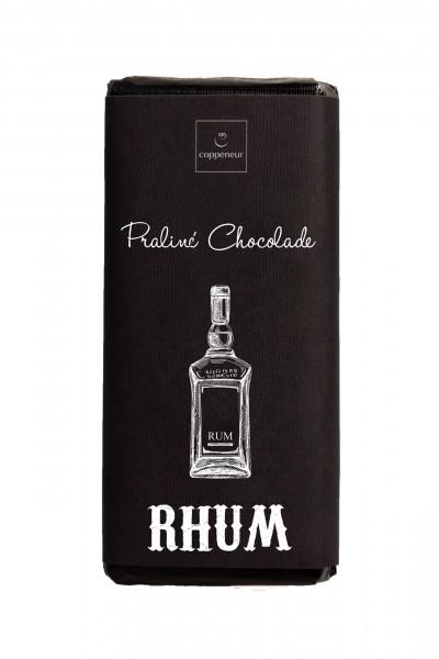 Coppeneur Handgeschöpfte Praliné-Chocolade mit Rhum - VEGAN