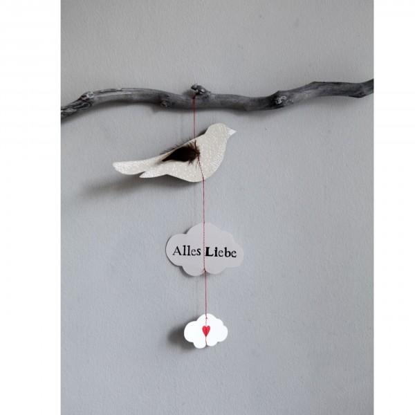 """Luftpost """"Alles Liebe"""""""
