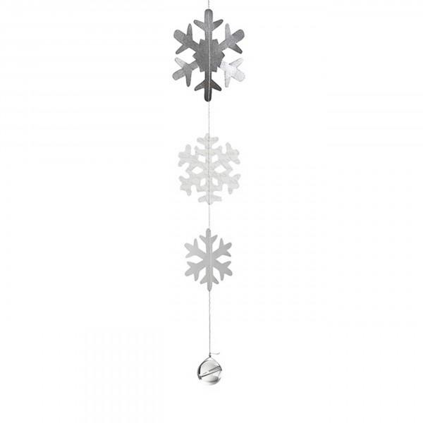 Räder Wintezeit Schneeflocken Kette, 125 cm
