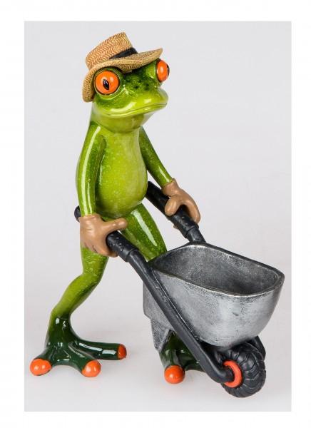 Formano - Frosch mit Karre