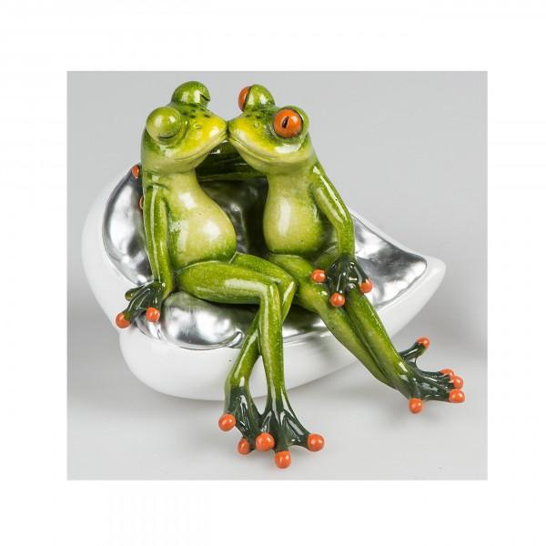 Verliebtes Froschpaar