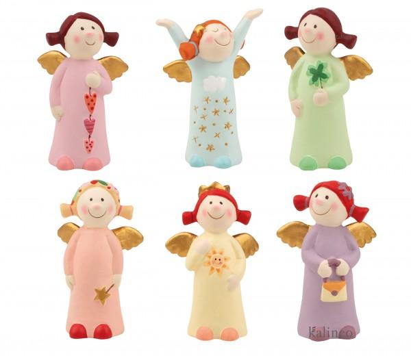 Himmlische Schwestern New Edition 7, Mini stehend, 6 Stück im Set, mit einer kleinen Schokoüberraschung!