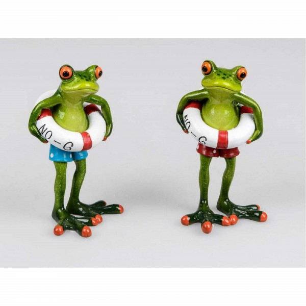 Formano Frosch Schwimmer (rote Badehose)