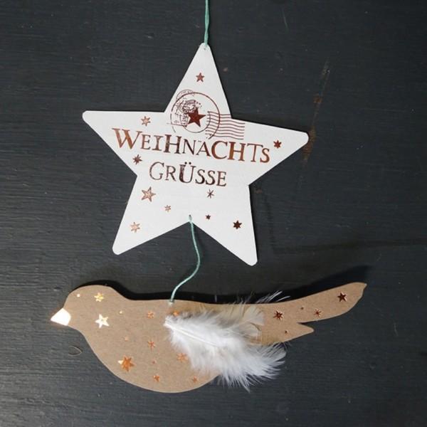 """Good old Friends Weihnachtspost - Winter Luftpost """"Himmlische Weihnachten"""""""