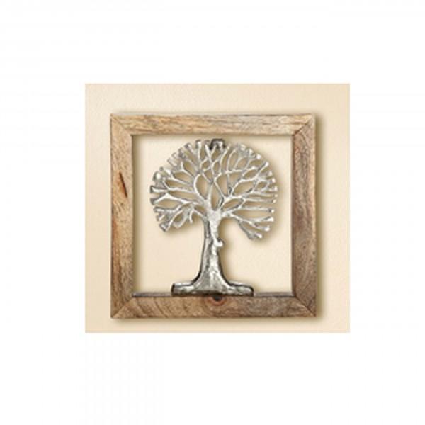 Gilde - Lebensbaum im Rahmen 20x20cm