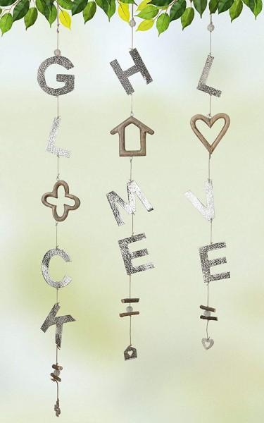 Gilde Girlande GLÜCK (ca. 110 cm)