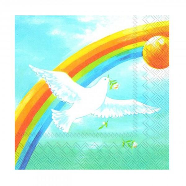 Serviette-Kommunion/Konfirmation DOVE OF PEACE