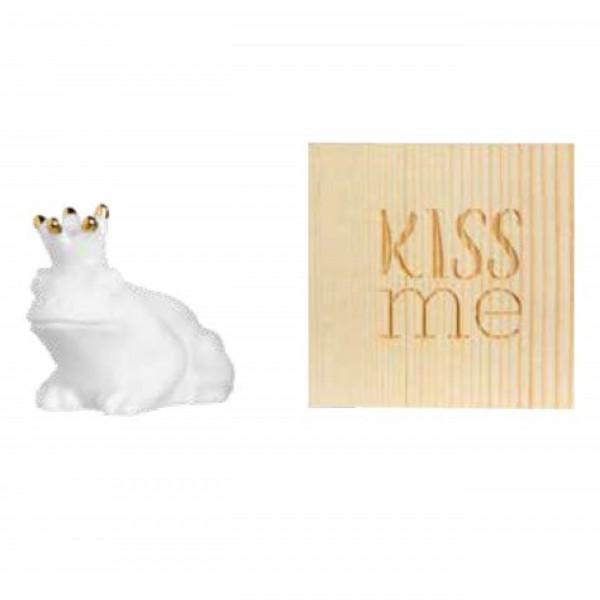 Räder Glücksskästchen Frosch KISS ME - Herzstücke