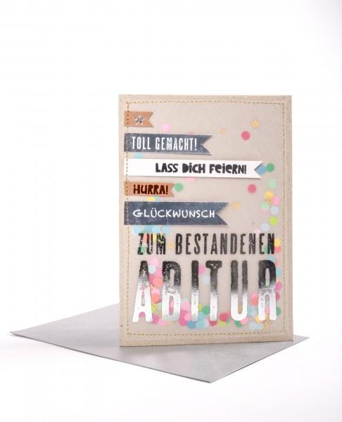 """Good Old Friends Karte """"Zum Abitur"""""""