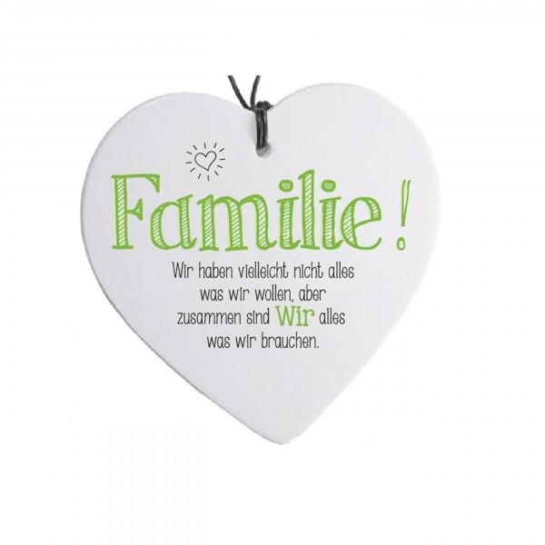 Sag's mit Herz...Familie!