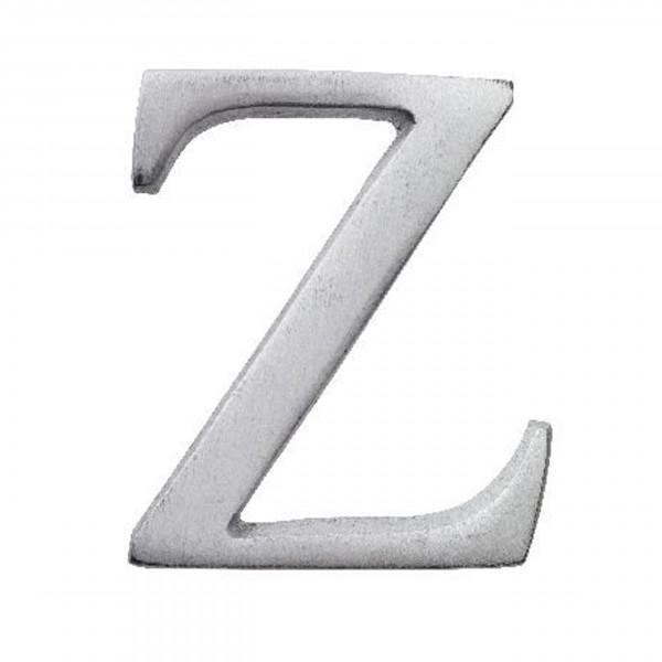 Aluminium Buchstabe Z