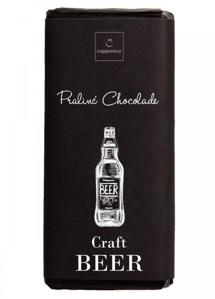 Handgeschöpfte Praliné-Chocolade Craft Beer - Schwarz Bier