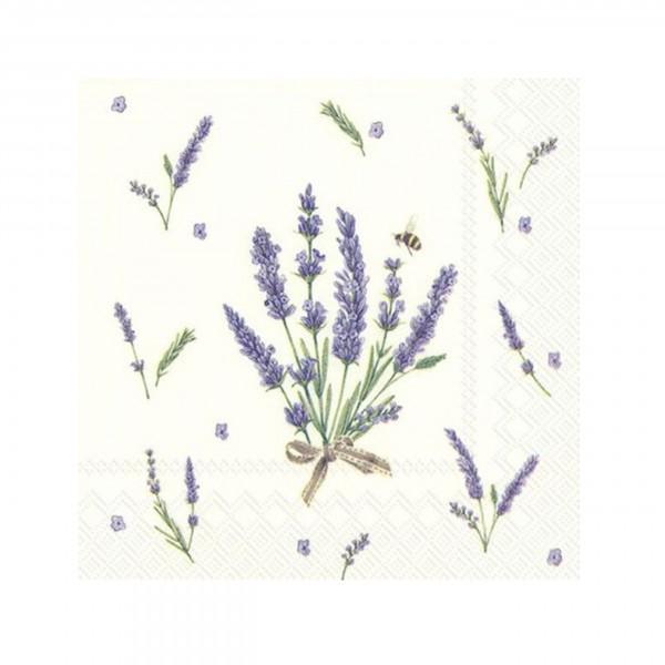 IHR - Cocktail - Serviette, Bouquet of Lavender