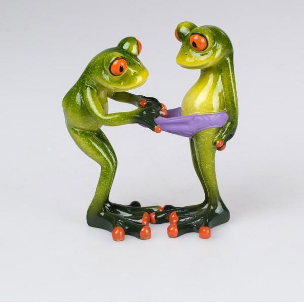 Froschpaar 14cm