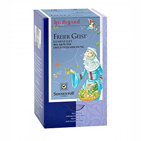 Hildegard Freier Geist-Tee, Sonnentor BIO-Kräutertee, Aufgussbeutel