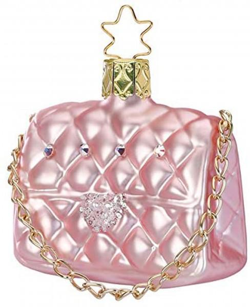 Inge-Glas Anhänger - Handtasche- Clutch 6cm