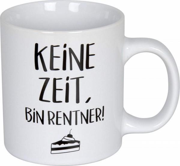 Könitz Henkelbecher - Keine Zeit, bin Rentner