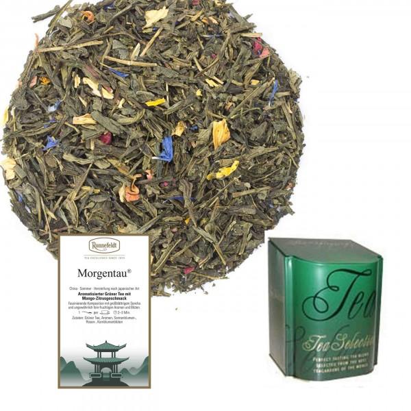 Ronnefeldt Morgentau, 250g mit erlesener Teedose