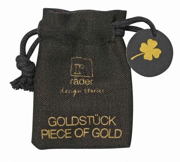Räder Goldstück Münze (Glücksklee)